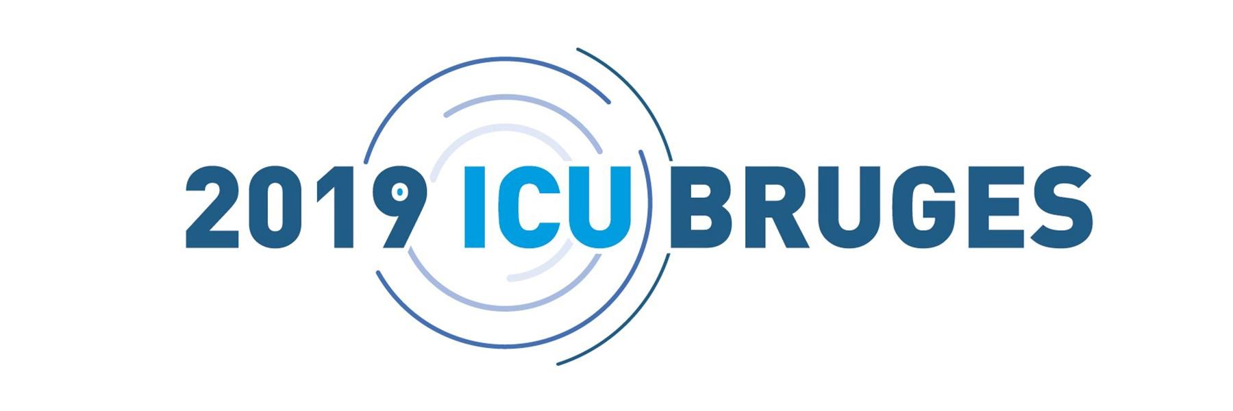 2019 ICU Bruges Logo