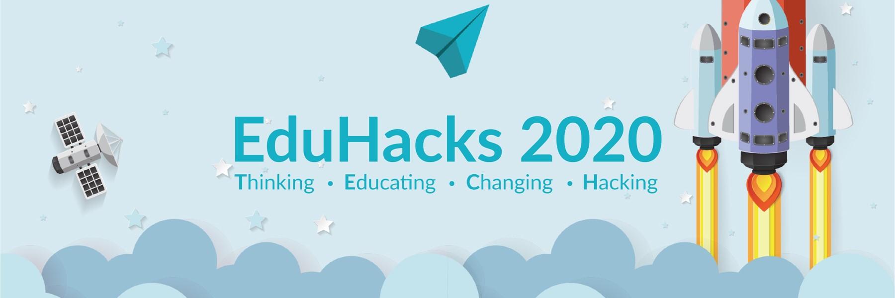 EduHacks 2020 Banner.