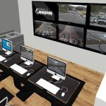 A rendering of new traffic lab.