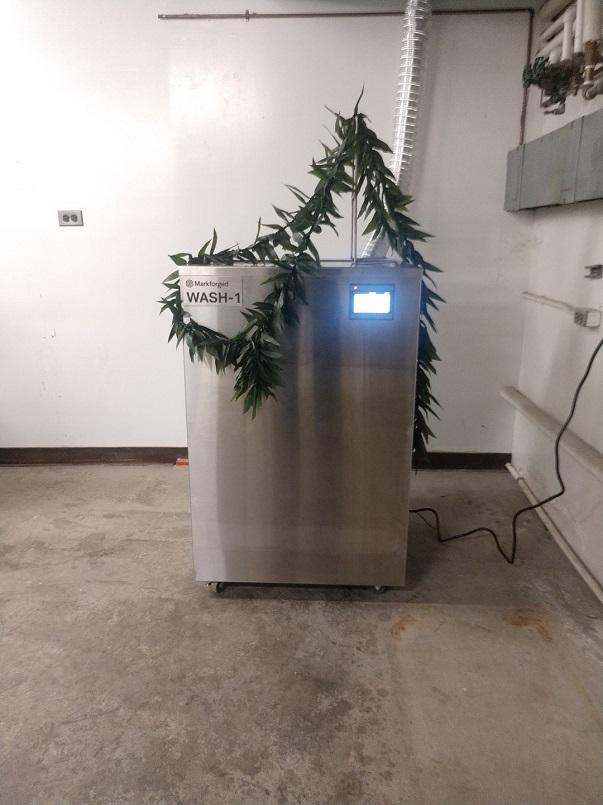Wash For 3D Metal Printer