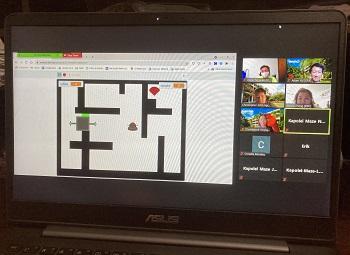 Screenshot Of A Maze