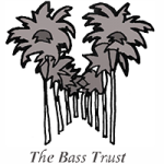 Bass Trust logo featuring two rows of palm trees